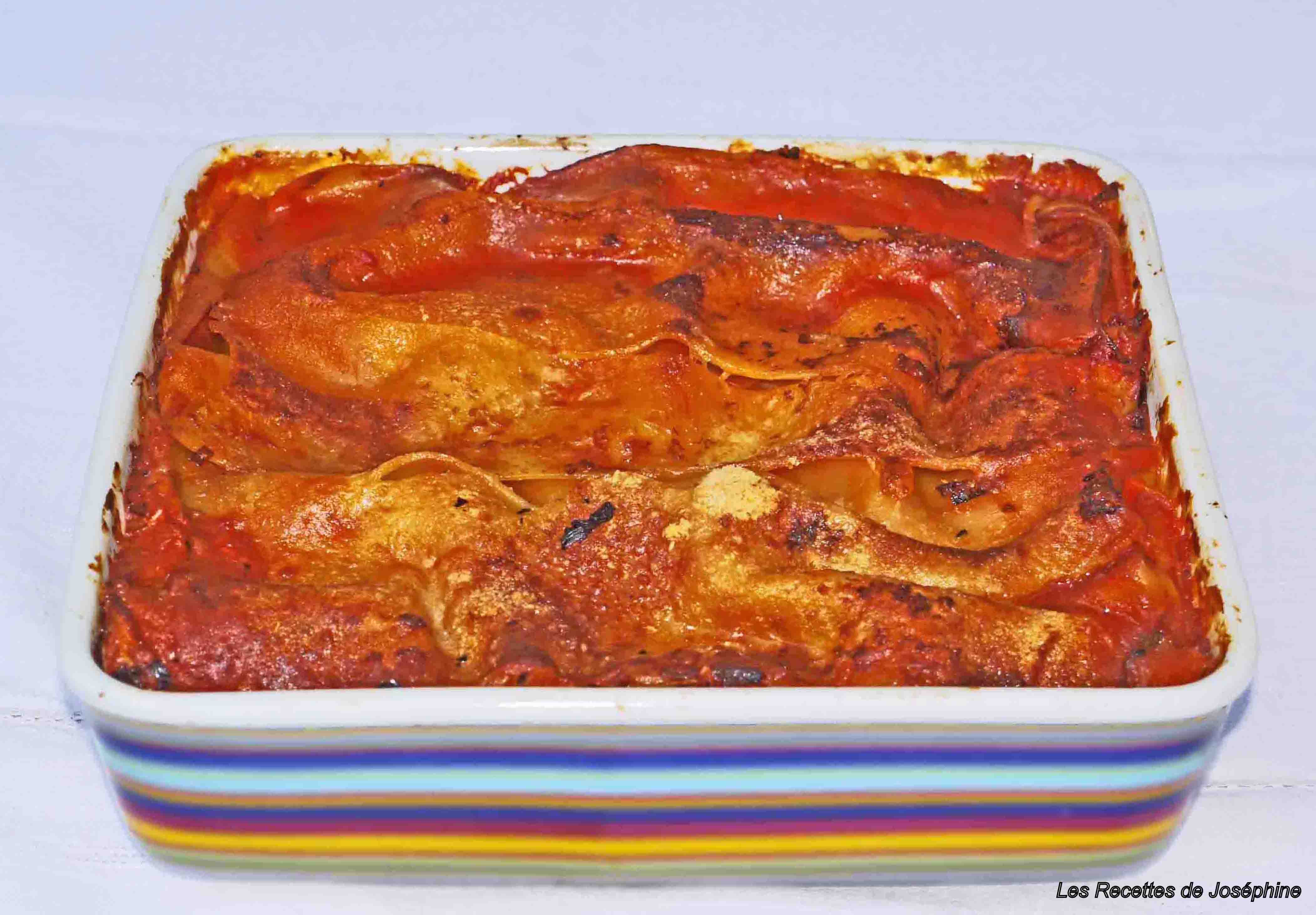 Recettes des « Lasagne alla Napoletana ».