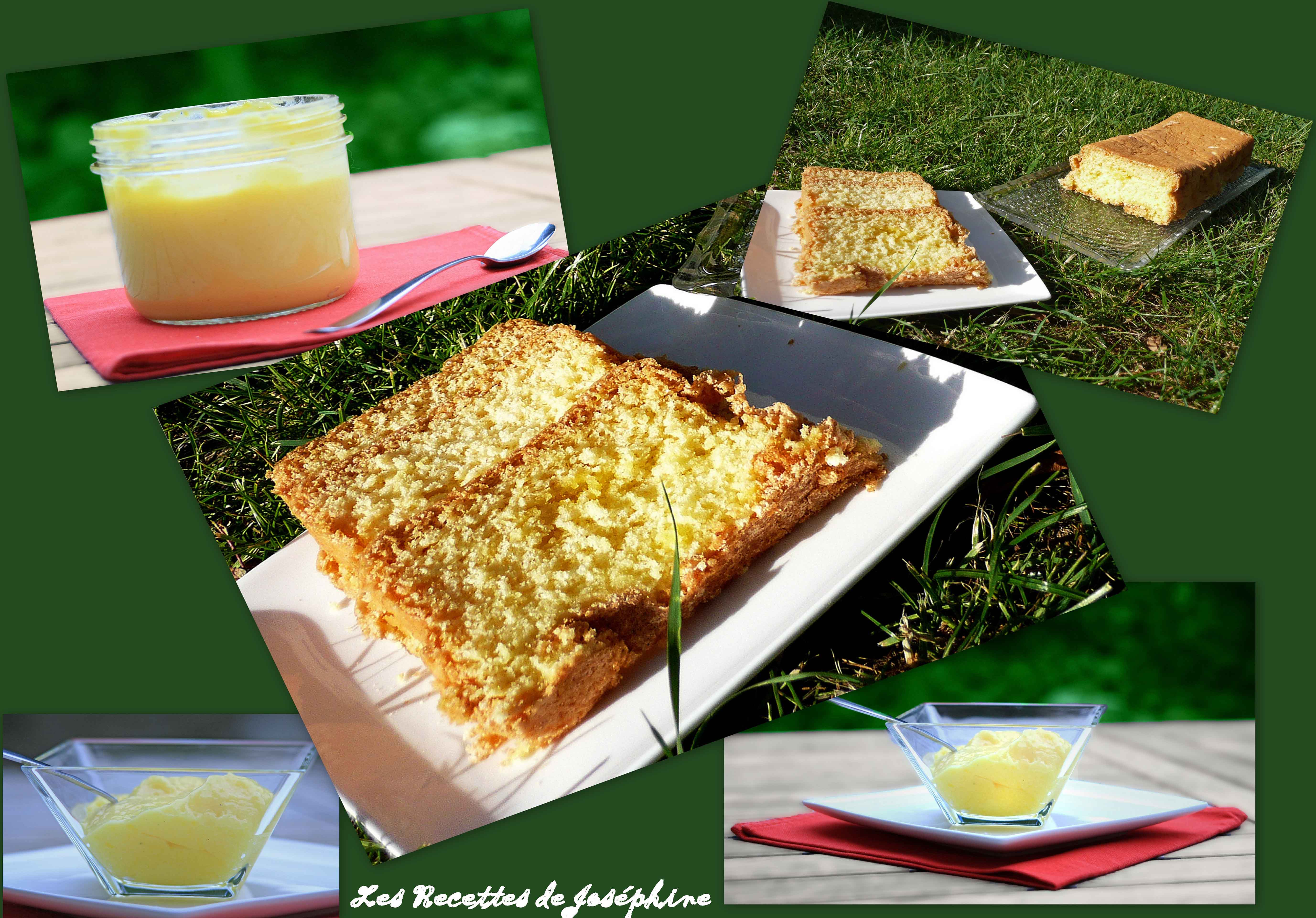 Cake Sans Beurre et Lemon curd