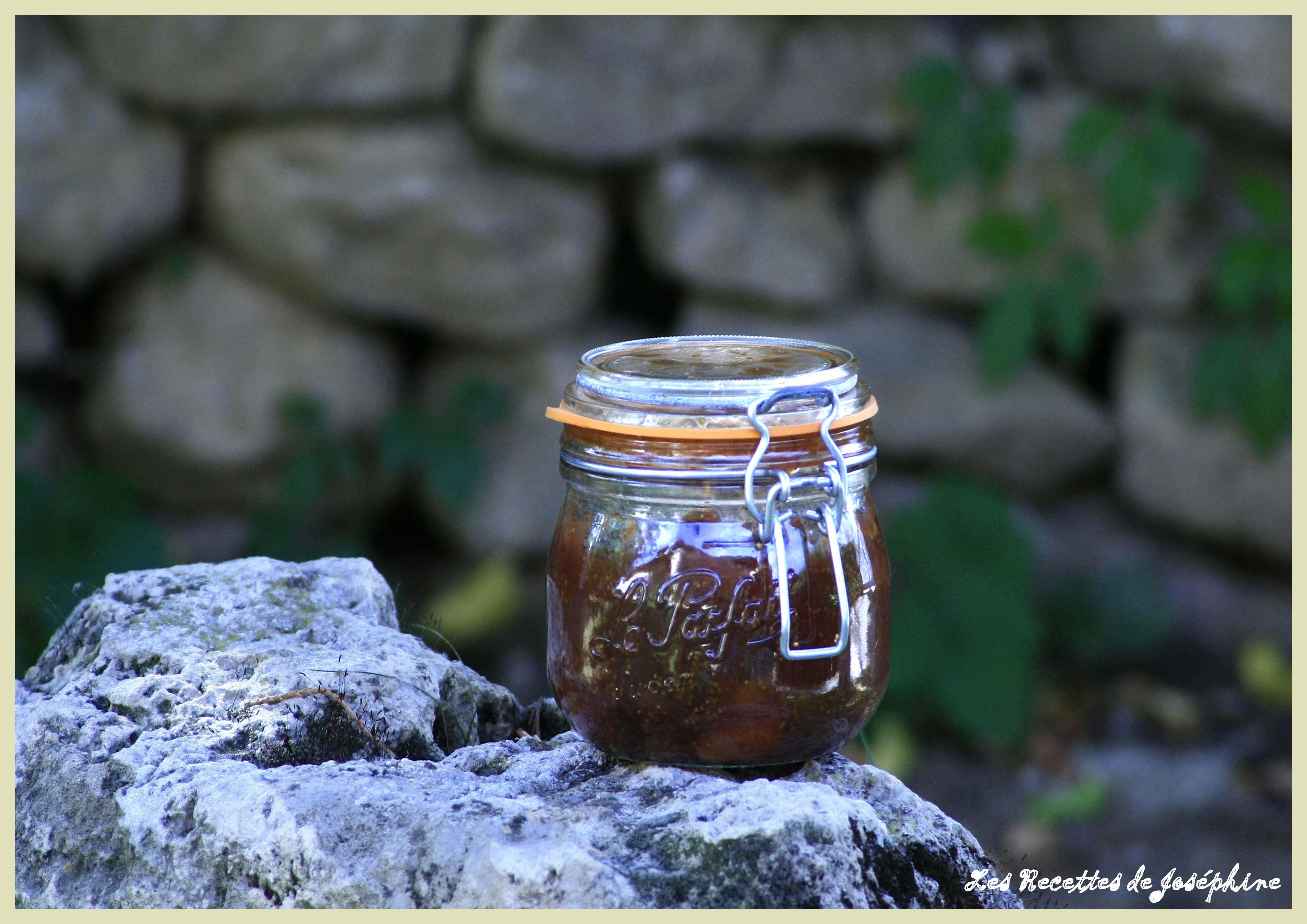 Chutney aux Figues et Raisins