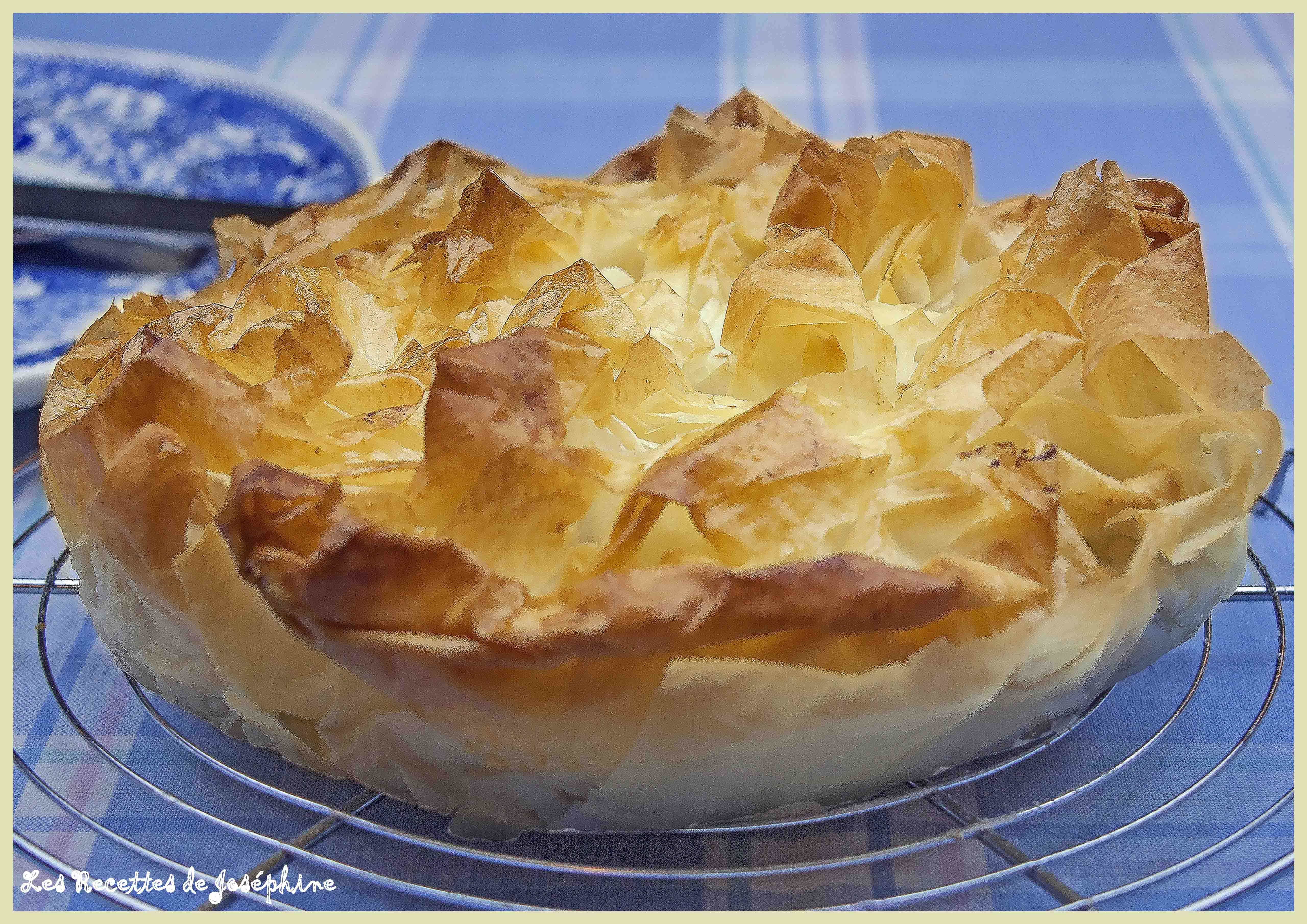 Croustillant Pâte Filo, Façon Strudel