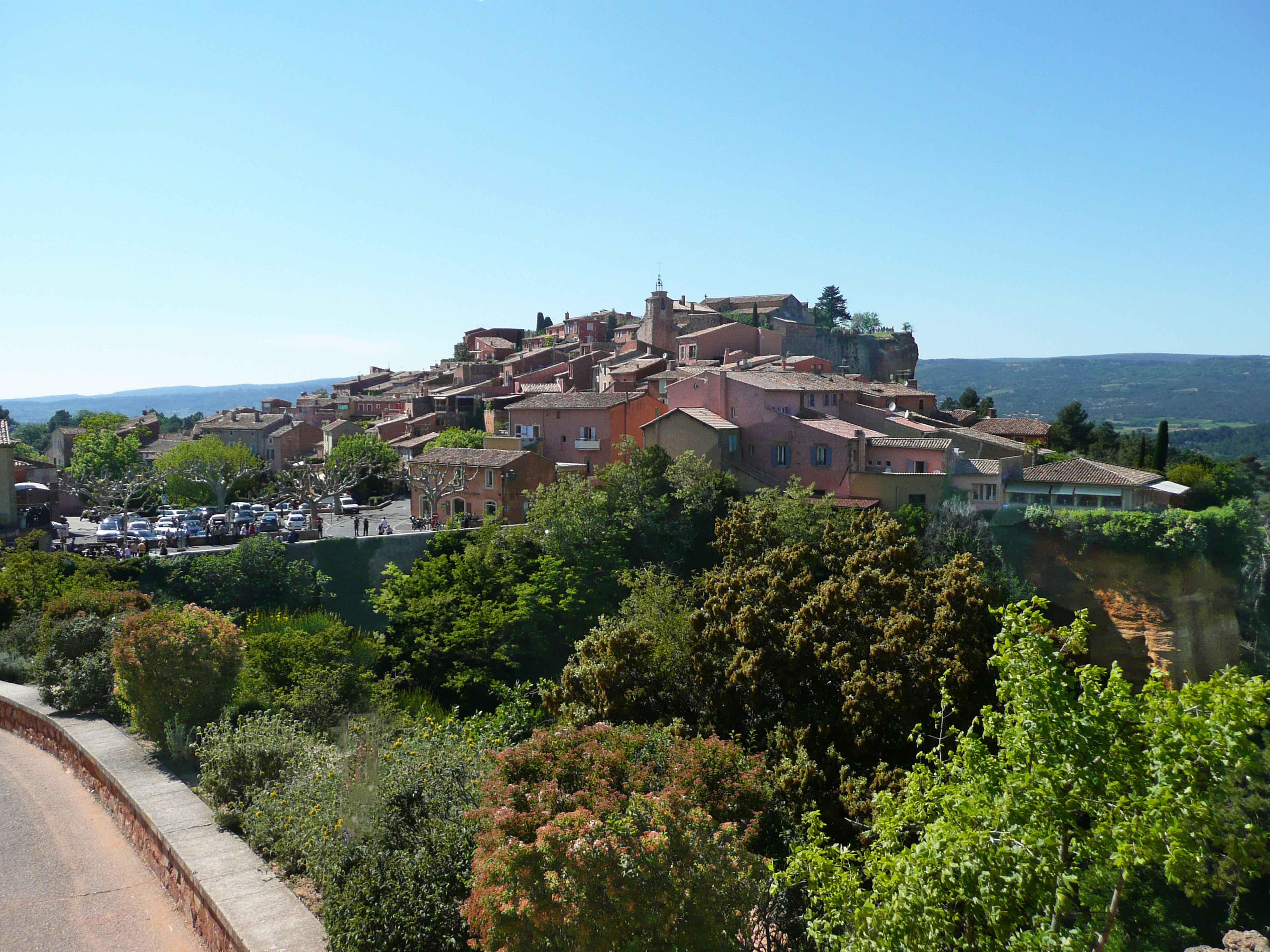 Village de Roussillon : Le Sentier des Ocres