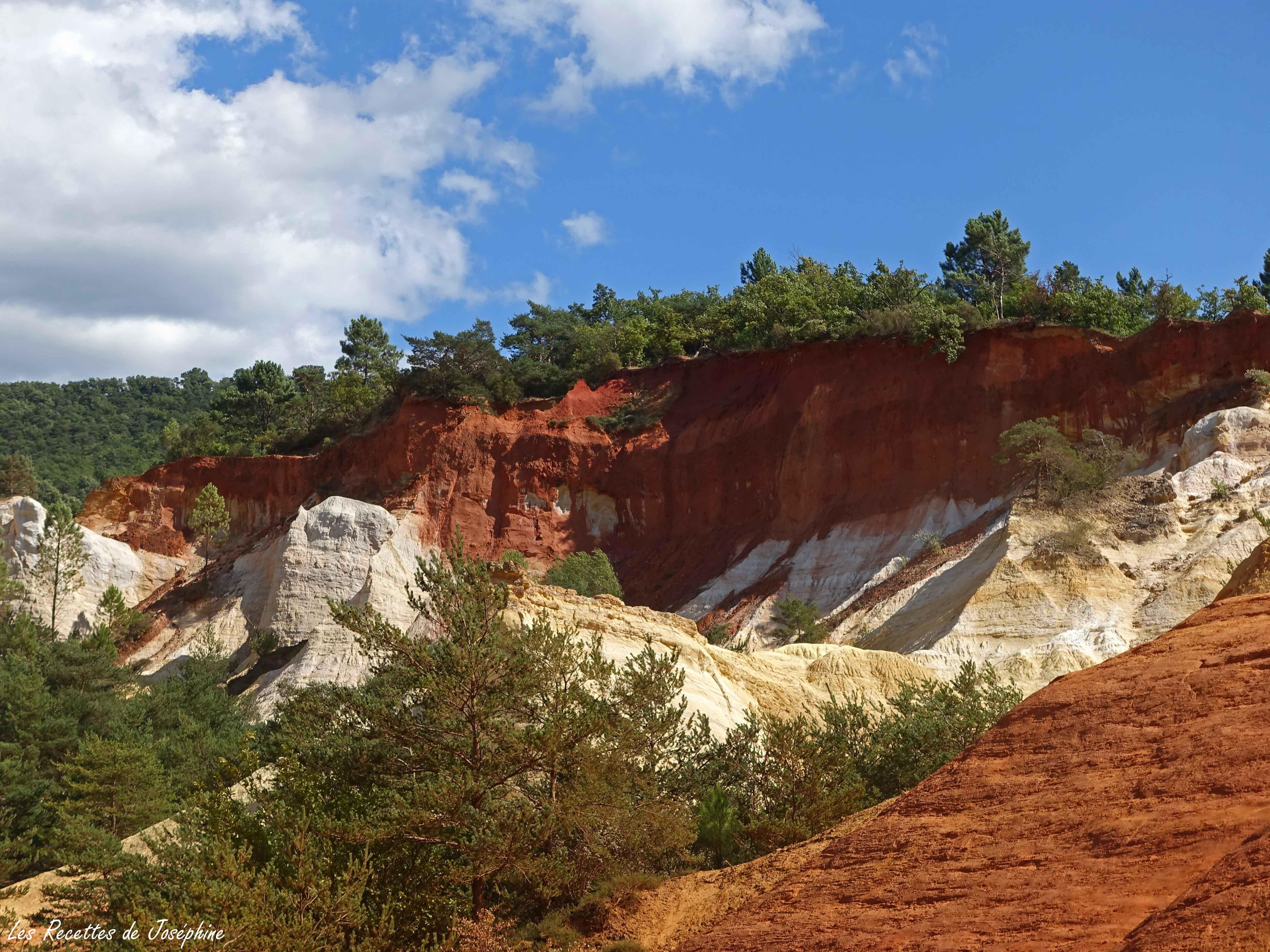 Le Colorado Provençal de Rustrel